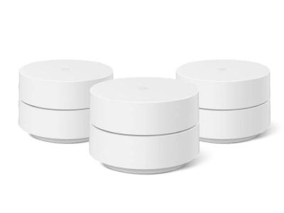 Google Whole Home Mesh Wi-Fi System , 3 Pack - GA3A00441-A08