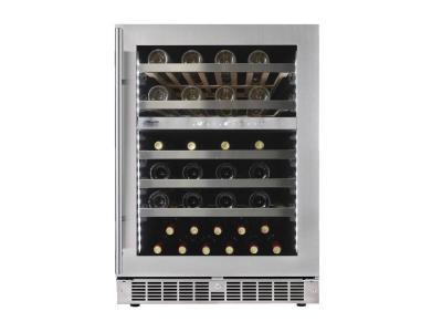 "24"" Silhouette Under-counter Wine Cellar - SPRWC053D1SS"