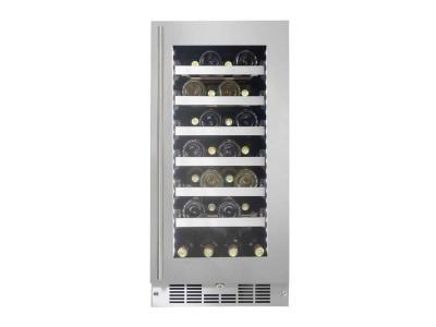"15"" Silhouette Built-in Column 27 Bottles Wine Cooler - SPRWC031D1SS"