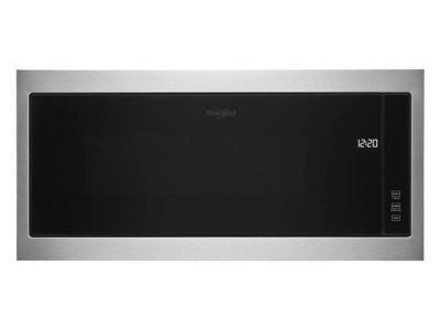"""30"""" Whirlpool 1.1 Cu. Ft. Built In Microwave In Stainless Steel - YWMT50011KS"""