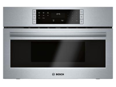 """30"""" Bosch 500 Series Built-In Microwave Oven Stainless Steel - HMB50152UC"""