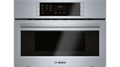 """27"""" Bosch Speed Oven Microwave Oven With Convection Stainless Steel - HMC87152UC"""