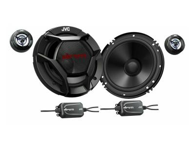 """JVC 6.5"""" 2-Way Component Speakers with 360W Max Power - CS-DR601C"""