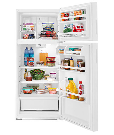 "28"" Amana 4 Cu. Ft. Top-Freezer Refrigerator - ART104TFDW"