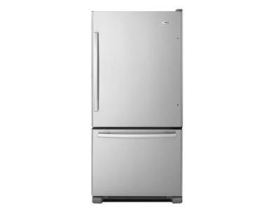 "33"" Amana 22 Cu. Ft. Amana Bottom-Freezer Refrigerator - ABB2224BRM"