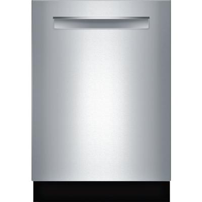 "24"" Bosch 800 Series Flush Handle Dishwasher In Stainless Steel - SHPM98W75N"