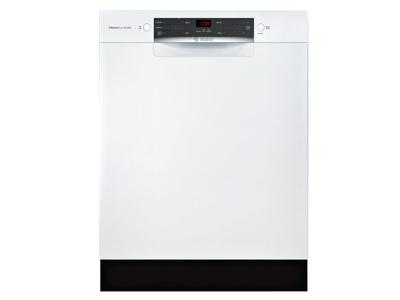 """24""""  Bosch 300 Series Recessed Handle Special Application Dishwasher - SGE53X52UC"""