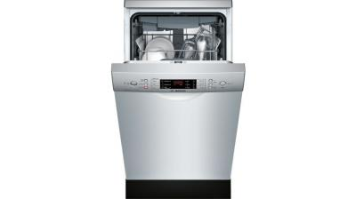"""18"""" Bosch Full Console Dishwasher With 3rd Rack  Stainless Steel - SPE68U55UC"""