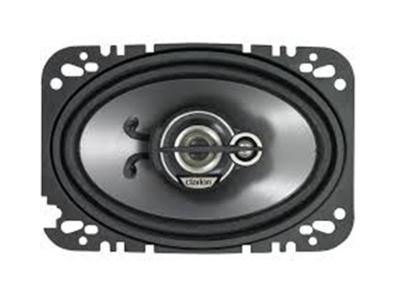 """Clarion 200W MAX. 4"""" x 6"""" CUSTOM FIT MULTIAXIAL 3-WAY SRG4633C"""