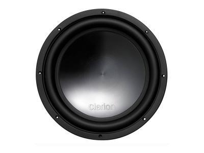 """Clarion 1500W MAX 10"""" Dual 4-ohm Voice Coil Subwoofer WQ2520D"""
