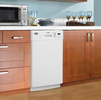 """18"""" Danby White Dishwasher - DDW1804EW"""