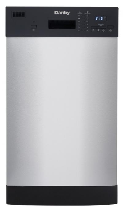 """18"""" Danby Stainless Built-In Dishwasher - DDW1804EBSS"""