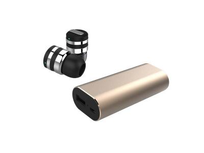 Escape Micro Bluetooth Earbuds With Storage Case And Built In Power Bank -  MJPB-S4