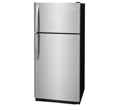 Frigidaire Freestanding Top Freezer Refrigerator In Stainless Steel - FFHT1821TS