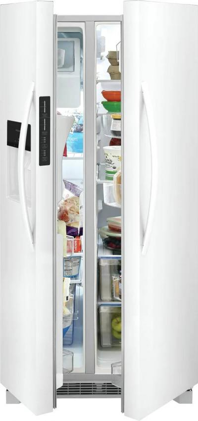 """33"""" Frigidaire 22.3 Cu. Ft. Capacity Side by Side Refrigerator - FRSS2323AW"""