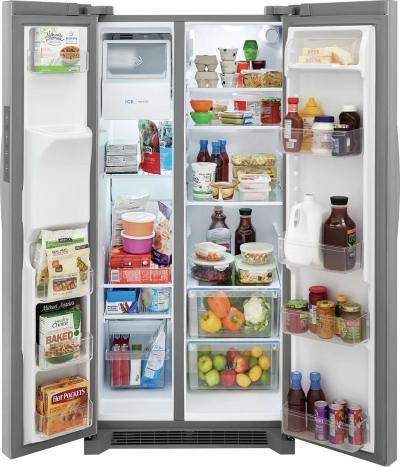 "33"" Frigidaire 22.3 Cu. Ft. Side by Side Refrigerator - FRSS2323AS"