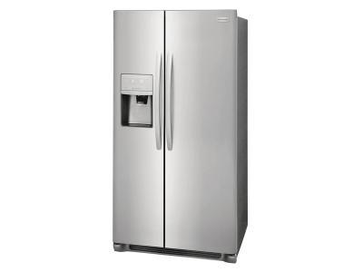 "36"" Frigidaire 22.2 Cu. Ft. Counter-Depth Side-by-Side Refrigerator - FFSC2323TS"