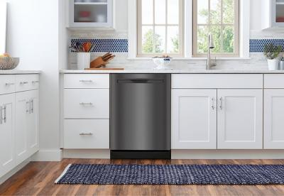 """24"""" Frigidaire Gallery Built-In Dishwasher with Dual OrbitClean Wash System - FGIP2468UD"""