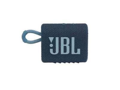 JBL Go 3 Portable Bluetooth Speaker in Blue - JBLGO3BLUAM