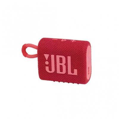 JBL Go 3 Portable Bluetooth Speaker in Red - JBLGO3REDAM