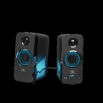 JBL Quantum Duo PC Gaming Speakers - JBLQUANTUMDUOBLKAM