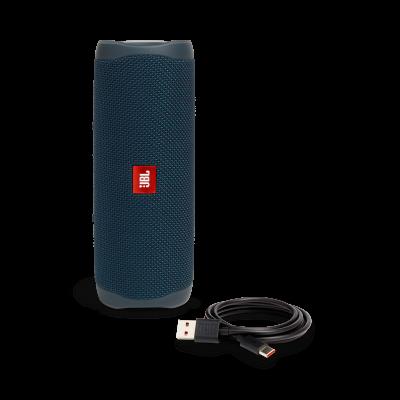 JBL FLIP 5 Portable Waterproof Speaker - JBLFLIP5BLUAM