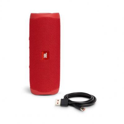 JBL FLIP 5 Portable Waterproof Speaker - JBLFLIP5REDAM