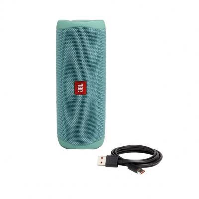 JBL FLIP 5 Portable Waterproof Speaker - JBLFLIP5TEALAM
