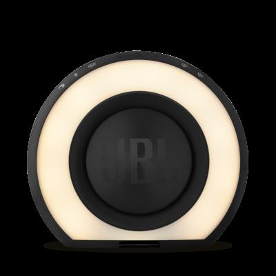JBL Bluetooth clock radio with USB charging and ambient light - JBLHORIZONBLKAM
