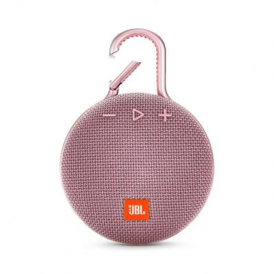JBL A full-featured waterproof portable Bluetooth speaker with surprisingly powerful sound.-JBLCLIP3PINK