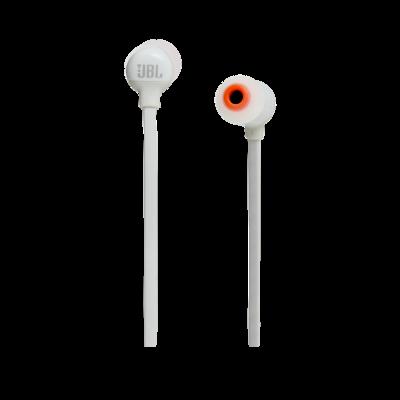 JBL Tune 110BT Wireless In-Ear Headphones In White - JBLT110BTWHTAM