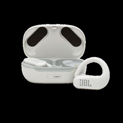 JBL Endurance Peak II Waterproof True Wireless In-Ear Sport Headphones In White - JBLENDURPEAKIIWTAM
