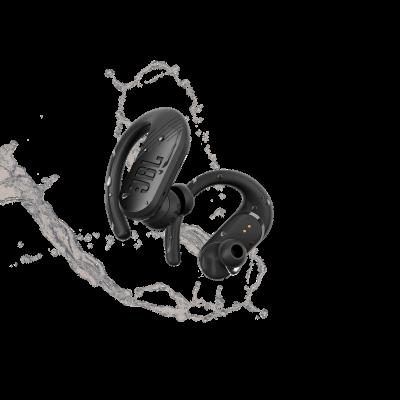 JBL Endurance Peak II Waterproof True Wireless In-Ear Sport Headphones In Black - JBLENDURPEAKIIBKAM