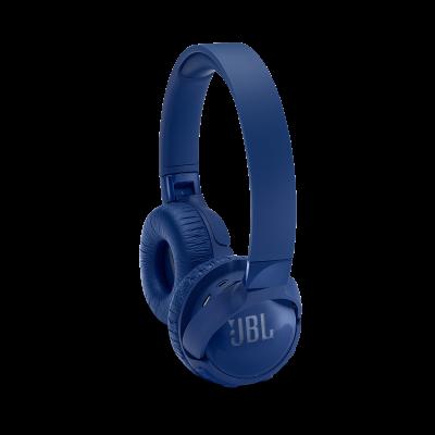 JBL Tune 600BTNC Wireless, On-Ear, active Noise-Cancelling Headphones - JBLT600BTNCBLUAM
