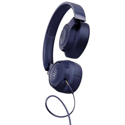 JBL Tune 750BTNC Wireless Over-Ear ANC Headphones - JBLT750BTNCBLUAM