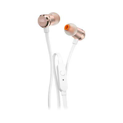 JBL Tune 290 In-Ear Headphones in Rose Gold - JBLT290RGDAM