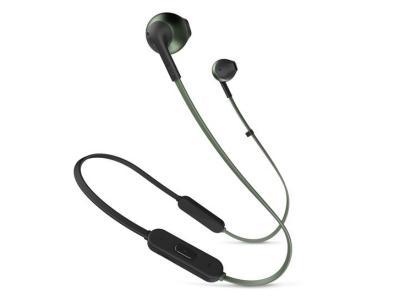 JBL TUNE 205BT Wireless Earbud Headphones In Green - JBLT205BTGRNAM