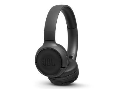 JBL TUNE 500BT Wireless On-Ear headphones In Black - JBLT500BTBLKAM