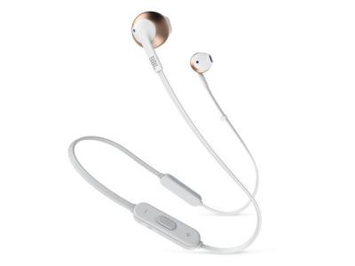 JBL TUNE 205BT Wireless Earbud Headphones In Rose Gold - JBLT205BTRGDAM