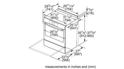 "30"" Bosch 4.8 Cu. Ft. Benchmark Gas Slide-in Range Stainless Steel - HGIP056UC"