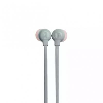 JBL TUNE 115BT Wireless In-Ear Headphones In Gray - JBLT115BTGRYAM