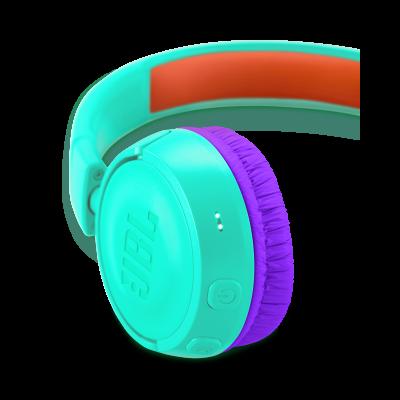 JBL Kids Wireless On-Ear Headphones - JR300BT (Tl)
