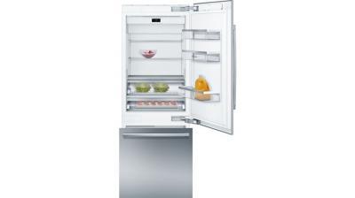 "30"" Bosch Benchmark Built-in Two Door Bottom Freezer Refrigerator - B30BB930SS"