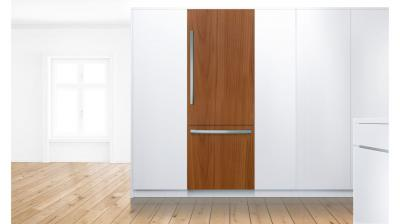 """30"""" Bosch Benchmark Built-in Two Door Bottom Freezer Refrigerator with Home Connect - B30IB900SP"""