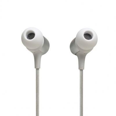 JBL Wireless In-Ear Neckband Headphones - Live 220BT (W)