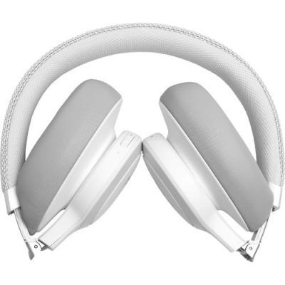 JBL Wireless Over-Ear NC Headphones Live 650BTNC White - JBLLIVE650BTNCWAM