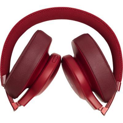 JBL Wireless Over-Ear Headphones Live 500BT Red - JBLLIVE500BTREDAM