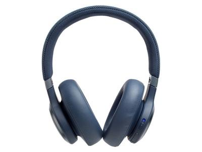 JBL Wireless Over-Ear NC Headphones Live 650BTNC Blue - JBLLIVE650BTNCUAM