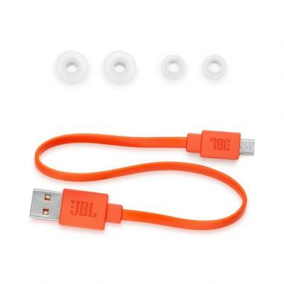 JBL Wireless In-Ear Neckband Headphone - LIVE 200BT (W)