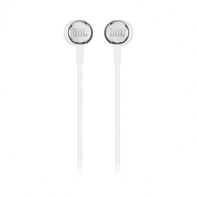 JBL In-Ear Headphone Live 100 White - JBLLIVE100WHTAM